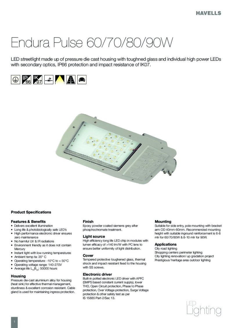 Tds endura pulse 60708090w daylight lighting contact us fandeluxe Gallery